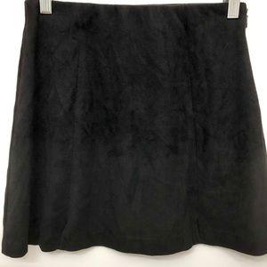 Brandy Melville Black Mini Skirt